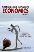 Cover for The Concise Oxford Companion to Economics in India