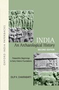 Cover for India: An Archaeological History