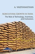 Cover for Agricultural Growth in India