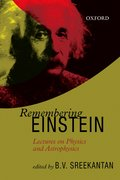 Cover for Remembering Einstein
