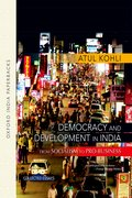 Cover for Democracy and Development in India