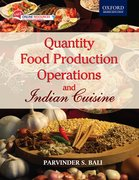 Cover for Quantity Food Production Operations and Indian Cuisine