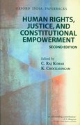 Cover for Human Rights, Justice and Constitutional Empowerment