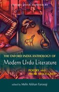 Cover for The Oxford India Anthology of Modern Urdu Literature