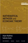 Cover for Mathematical Methods and Economic Theory
