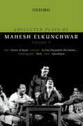 Cover for Collected Plays of Mahesh Elkunchwar Volume II