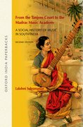 Cover for From the Tanjore Court to the Madras Music Academy