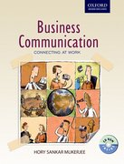 Cover for Business Communication: Connecting at work (with CD)