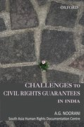 Cover for Challenges to Civil Rights Guarantees in India