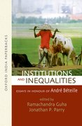 Cover for Institutions and Inequalities Essays in Honour of Andre Beteille