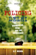 Cover for Policing Delhi