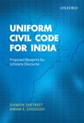 Cover for Uniform Civil Code for India