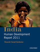 Cover for India Human Development Report 2011