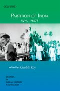 Cover for Partition of India Why 1947?