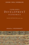 Cover for Toward Development Economics