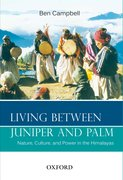 Cover for Living Between Juniper and Palm