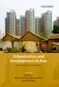 Cover for Urbanization and Development in Asia