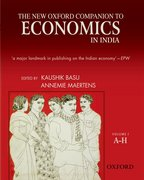Cover for The New Oxford Companion to Economics in India