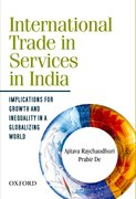 Cover for International Trade in Services in India