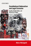Cover for Constitutional Nationalism and Legal Exclusion