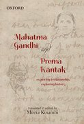 Cover for Mahatma Gandhi and Prema Kantak