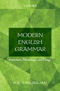 Cover for Modern English Grammar