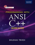 Cover for Programming with ANSI C++