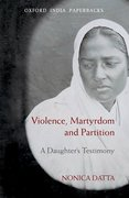 Cover for Violence, Martyrdom, and Partition