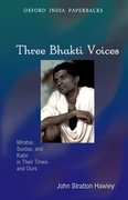 Cover for Three Bhakti Voices