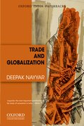 Cover for Trade and Globalization (OIP)
