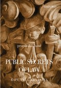 Cover for Public Secrets of Law