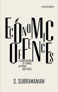 Economic Offences A Compendium in Prose and Verse