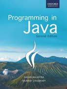 Cover for Programming in Java