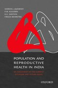 Cover for Population and Reproductive Health in India