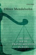 Cover for Law and Social Transformation in India