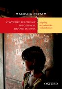 Cover for Contested Politics of Educational Reform in India