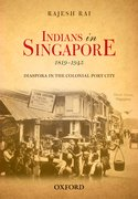 Cover for Indians in Singapore, 1819-1945