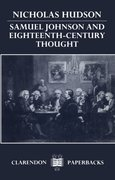 Cover for Samuel Johnson and Eighteenth-Century Thought