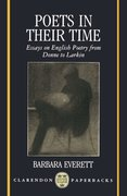 Cover for Poets in Their Time