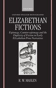 Cover for Elizabethan Fictions