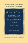 Cover for Victorian Poetry, Drama, and Miscellaneous Prose 1832-1890