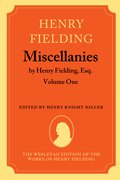 Cover for Miscellanies by Henry Fielding, Esq: Volume One