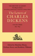 Cover for The Letters of Charles Dickens