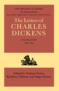 Cover for The Pilgrim Edition of the Letters of Charles Dickens