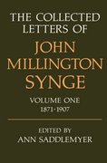 Cover for The Collected Letters of John Millington Synge