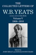 Cover for The Collected Letters of W. B. Yeats