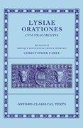 Cover for Lysiae Orationes cum Fragmentis