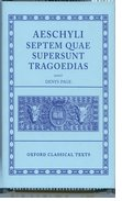 Cover for Septem Quae Supersunt Tragoediae