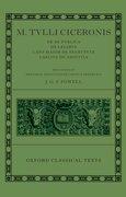 Cover for M. Tullius Ciceronis De Re Publica, De Legibus, Cato Maior de Senectute, Laelius de Amicitia