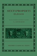 Cover for Sexti Properti Elegi